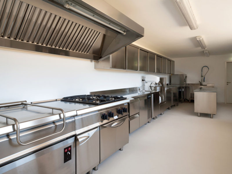 Cuisine professionnelle moderne